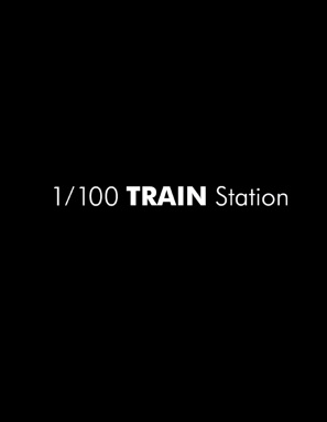 1/100 Train Station